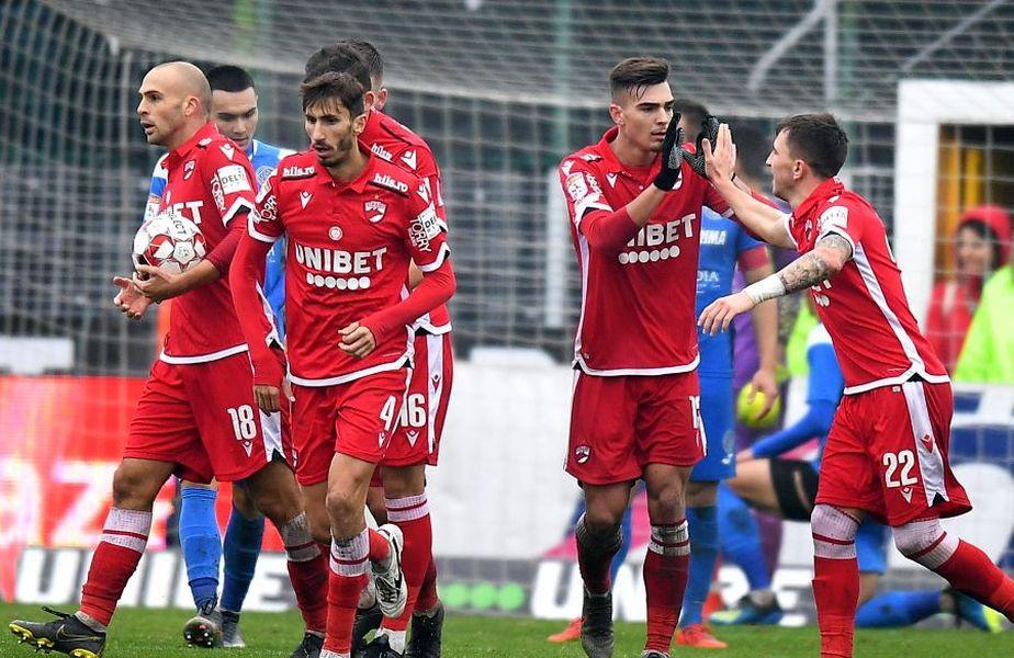 Dinamo este calificată în semifinalele Cupei României