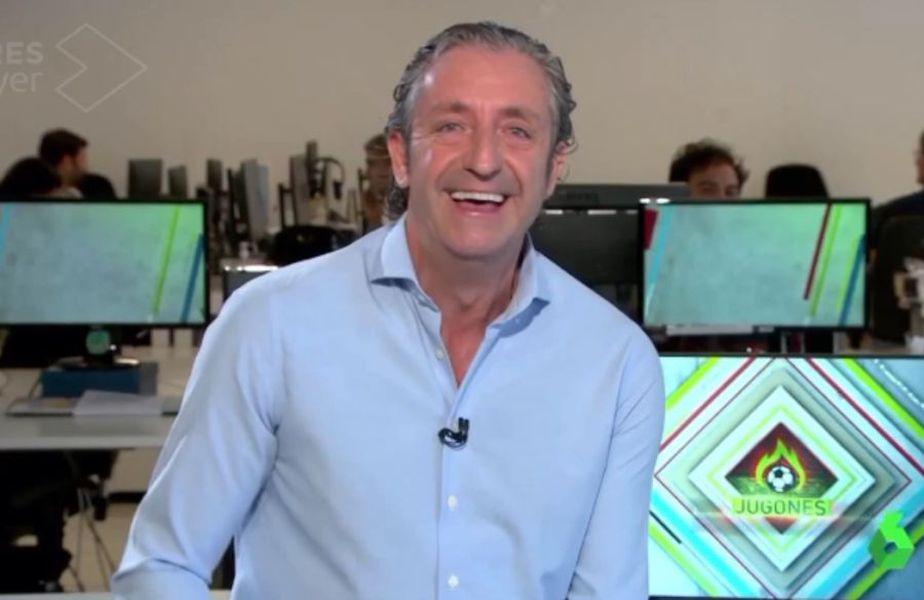 Momentul hilar cu Ionuț Stroe în prim plan a ajuns până în Spania / Captură El Chiringuito TV