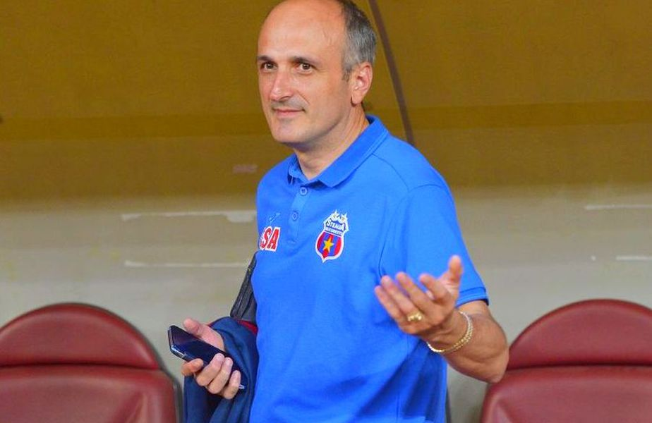 Florin Talpan, juristul CSA Steaua, are deja numeroase războaie la activ. Sursă foto: GSP