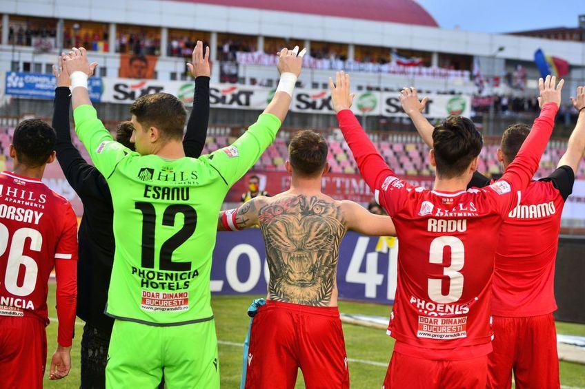 Dinamo a evitat in-extrmis colapsul în acest sezon / FOTO: Cristi Preda (GSP)