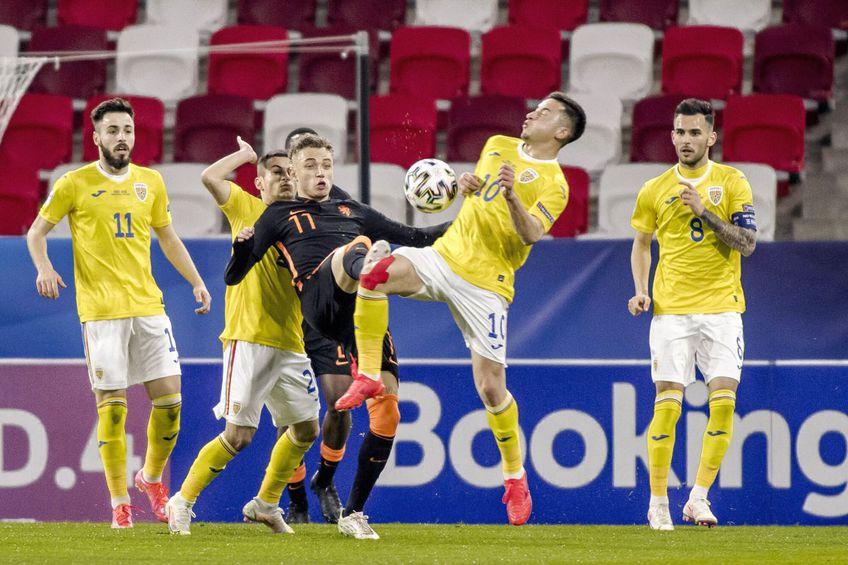 România U21 ar putea fi preluată de Nicolae Dică // foto: Imago