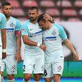 """Adi Popa a deschis scorul în """"Groapă"""". Foto: Raed Krishan"""
