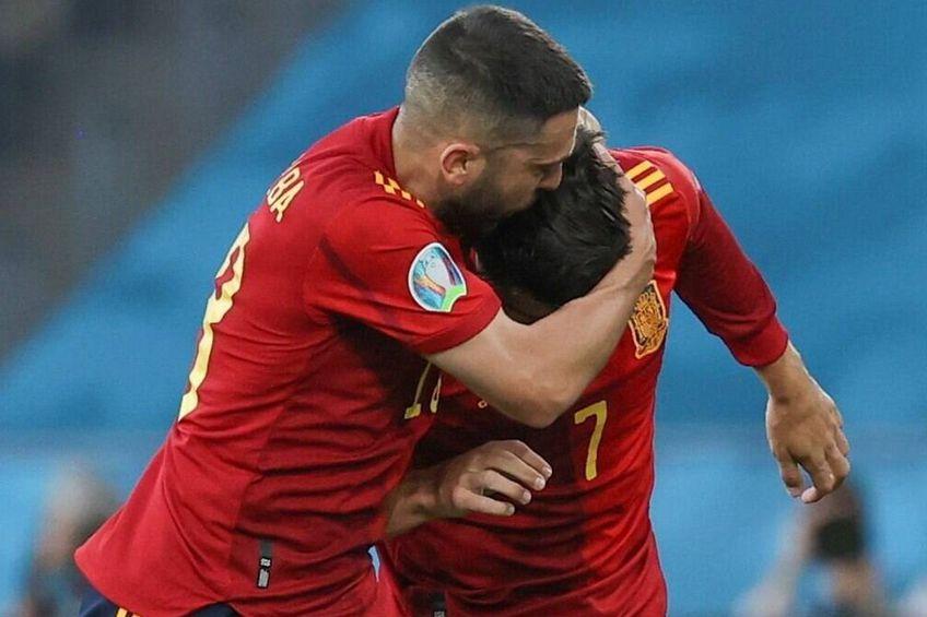 Internaționalul spaniol Alvaro Morata s-a plâns că suporterii l-au atacat pentru lipsa de eficacitate. Foto: Imago