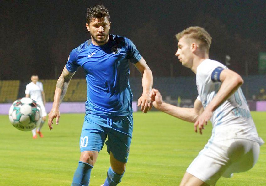 Cristi Tănase (34 de ani) a revenit după 12 ani la FC Argeș. Clubul piteștean și-a prezentat astăzi toată achizițiile.