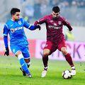 Cesar Meza Colli (stânga) nu a reușit să se impună la Craiova // foto: Instagram @ cesarmezacolli