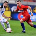 FCSB a avut pe teren nu mai puțin de 10 jucători la Mediaș. În imagine, Alexandru Pantea. Foto: GSP