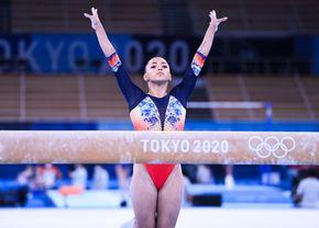 """Declarațiile Larisei Iordache înainte de finala de la Tokyo: """"Sper ca glezna să țină"""""""