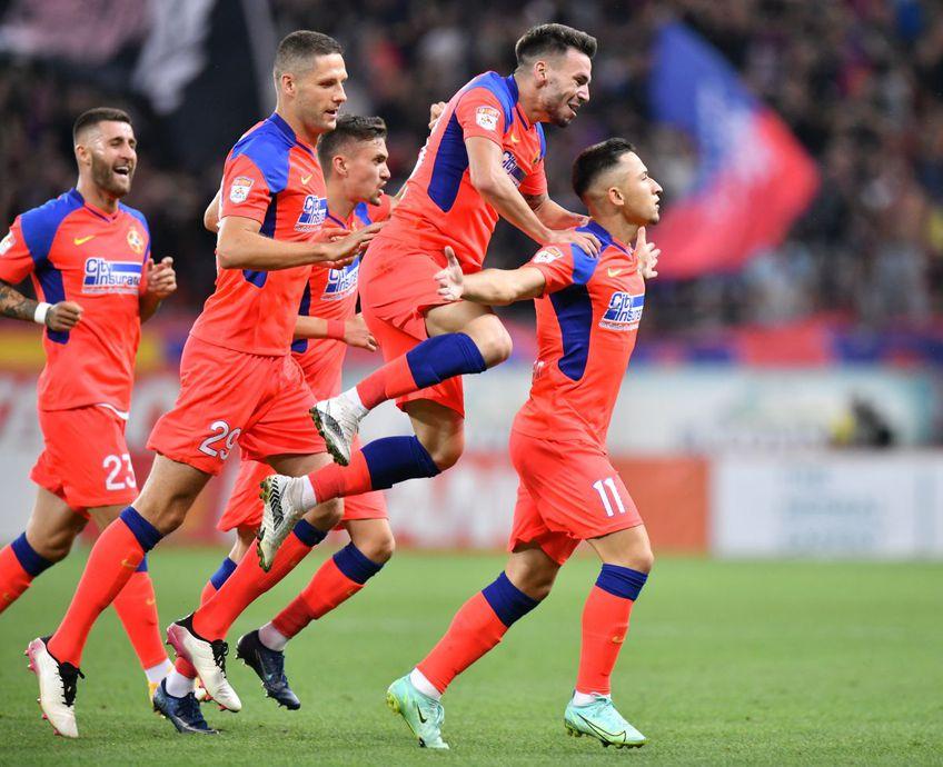 FCSB a învins-o pe CS Universitatea Craiova, scor 4-1, în derby-ul etapei disputat pe Arena Națională.