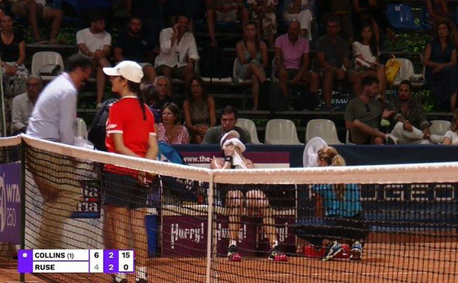 Gabriela Ruse, învinsă în finala turneului de la Palermo! Momente dramatice pentru româncă, din cauza epuizării