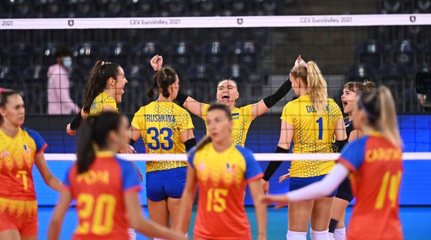 Naționala de volei feminin a României înfruntă Ucraina în ultimul meci al grupei D de la Campionatul European. Partida este programată la ora 20:30, liveSCORE pe GSP.ro și în direct pe Telekom Sport.