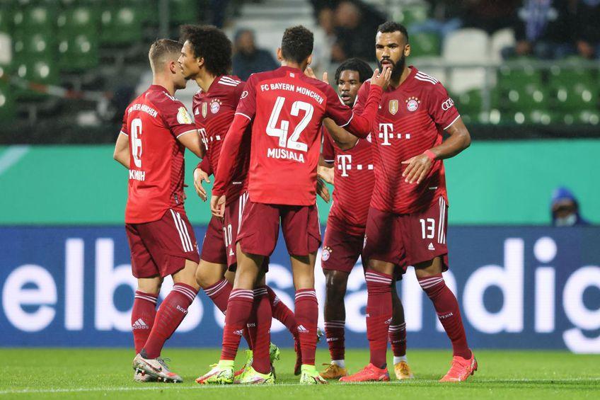 Bayern a spulberat-o pe Bremer în primul tur din Cupa Germaniei, 12-0 în deplasare!