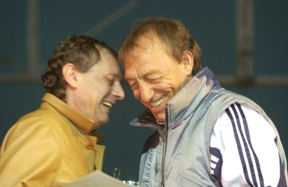 Ilie Balaci (1956 - 2018) și Gicu Dobrin (1947-2007)