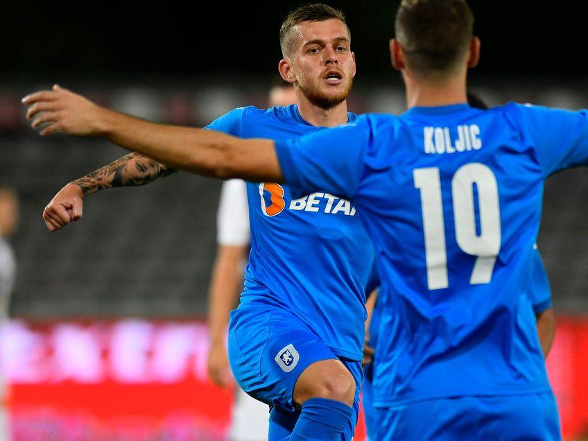 Craiova a învins-o pe FC Argeș, scor 2-1, în etapa cu numărul 5 din Liga 1.