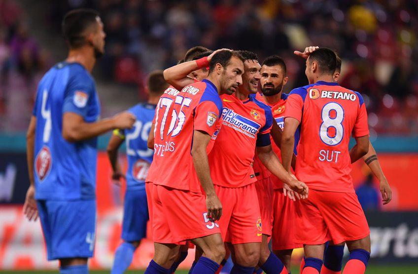 FCSB a învins-o pe Academica Clinceni, scor 3-2, în runda #10 din Liga 1.