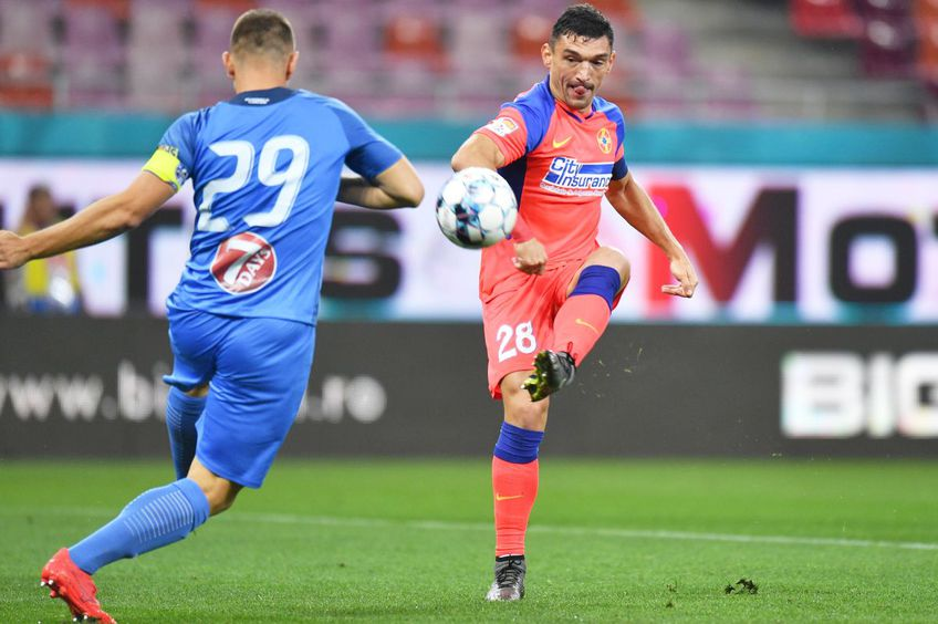 Golul lui Claudiu Keșeru // foto: Raed Krishan - GSP