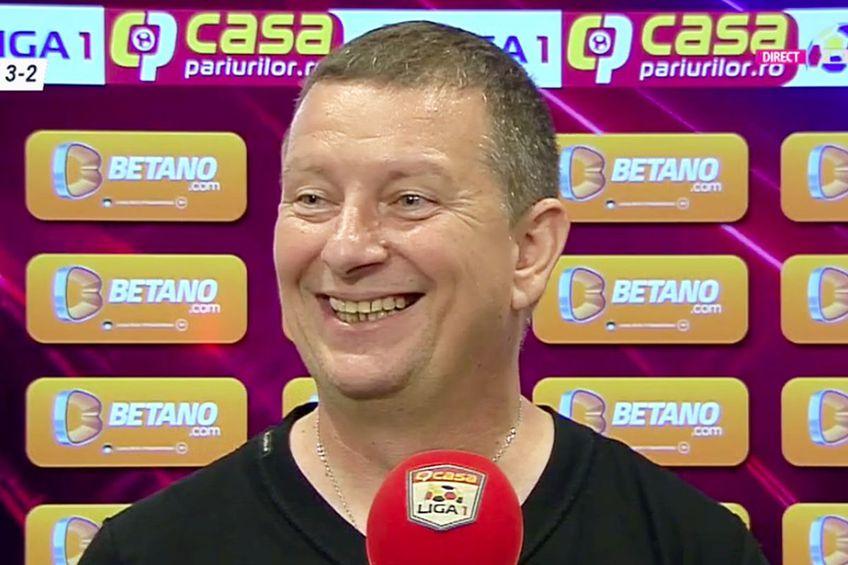 Ionuț Chirilă, antrenor Academica Clinceni // foto: captură DigiSport