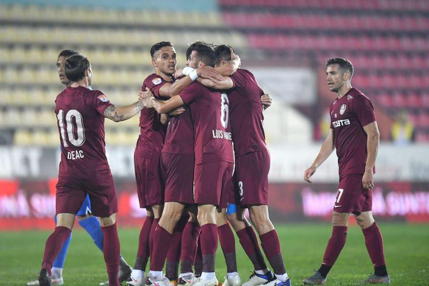 FC Voluntari - CFR Cluj // foto: Raed Krishan