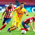 Lionel Messi în Atletico Madrid - Barcelona 1-0. foto: Imago Images