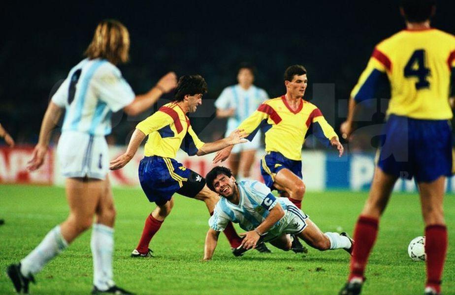Gabi Balint a povestit momentele pe care le-a trăit alături de Maradona, la meciul României cu Anglia din 1990.