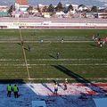 """Gazonul de pe stadionul """"Nicolae Dobrin"""" ar putea fi acoperit de zăpadă la ora meciului / Sursă foto: Facebook FC Argeș Fans"""