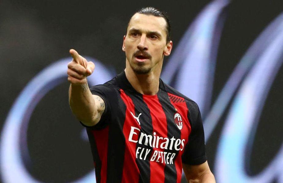 Zlatan Ibrahimovic (39 de ani), starul lui AC Milan, consideră că brazilianul Ronaldo, retras din activitate în 2011, este cel mai mare fotbalist din toate timpurile.