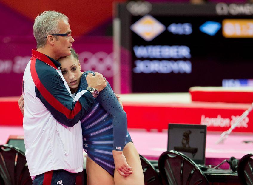 John Geddert alături de Jordyn Wieber la Jocurile Olimpice din 2012 FOTO Imago Images