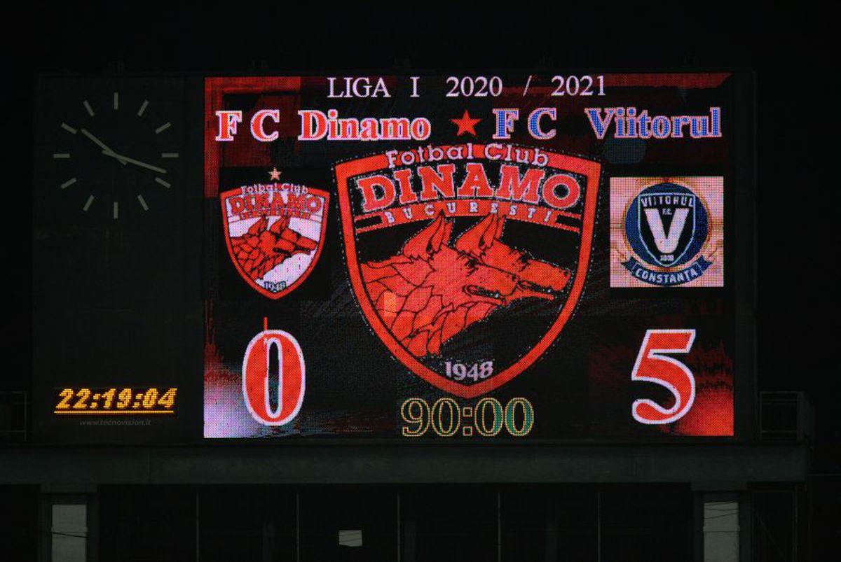 FOTO DINAMO - VIITORUL 26.02.2021