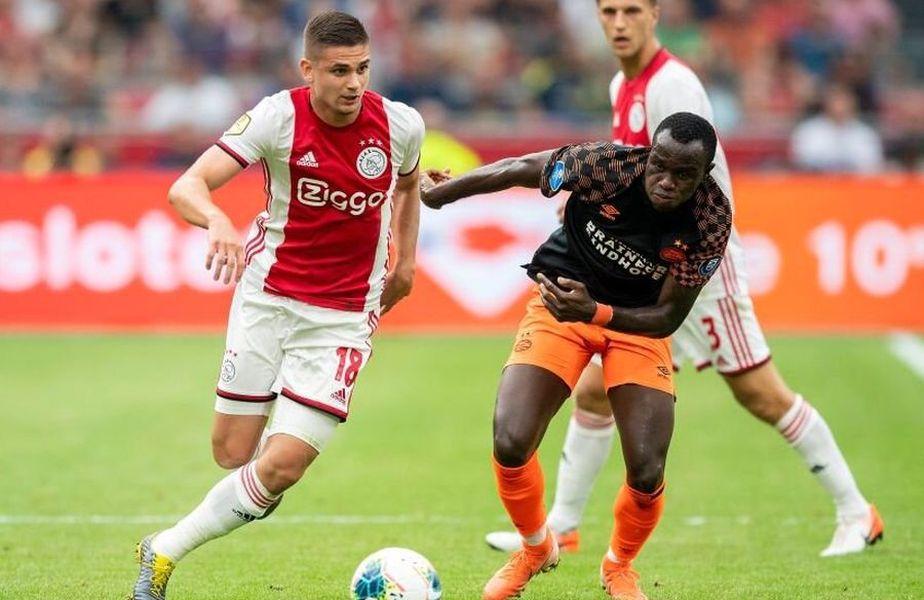 12,5 milioane de euro a costat-o pe Ajax transferul lui Marin de la Standard