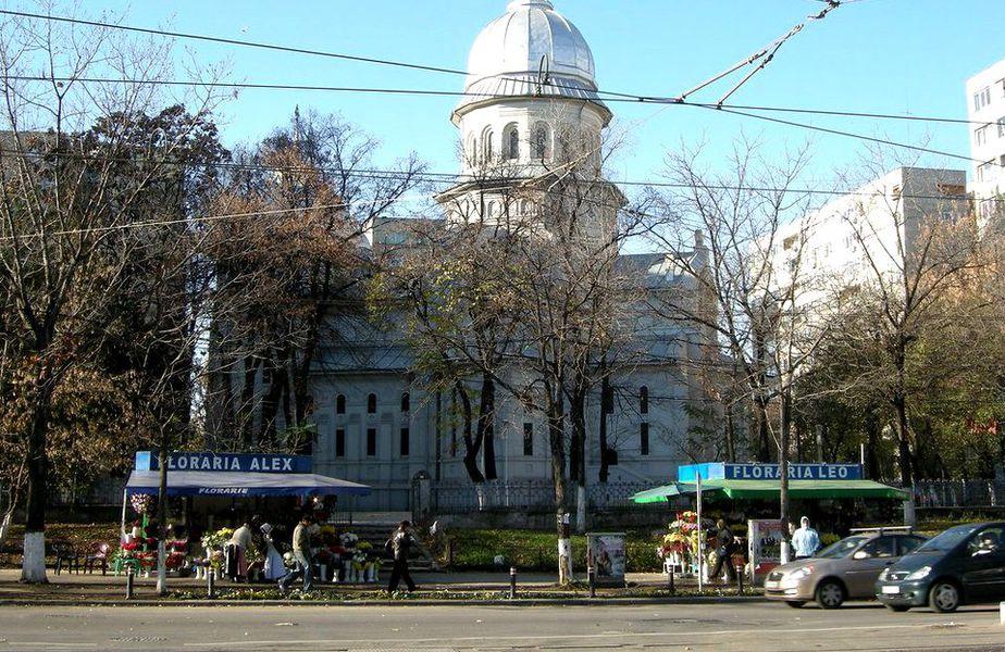 La biserica Sf. Dumitru din București au fost identificate șase cazuri de coronavirus. Toți sunt internați în spital, iar biserica a fost dezinfectată. Foto: Libertatea