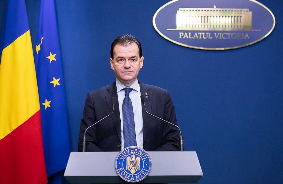 Guvernul României condus de Ludovic Orban a modificat declarația pe propria răspundere