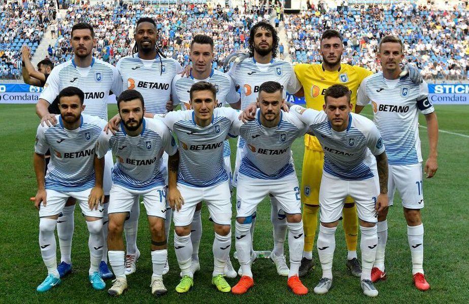 U Craiova se află pe locul 3 în play-off