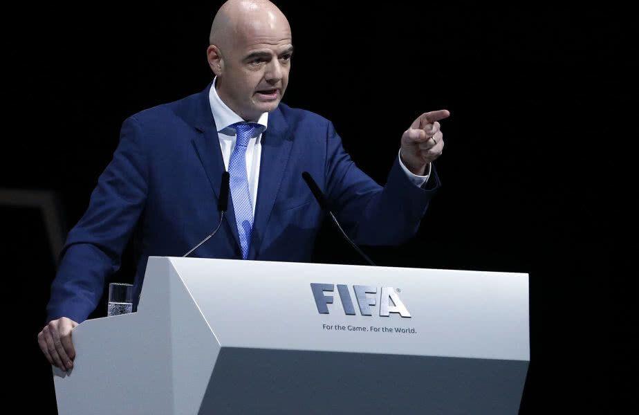 Președintele FIFA, Gianni Infantino
