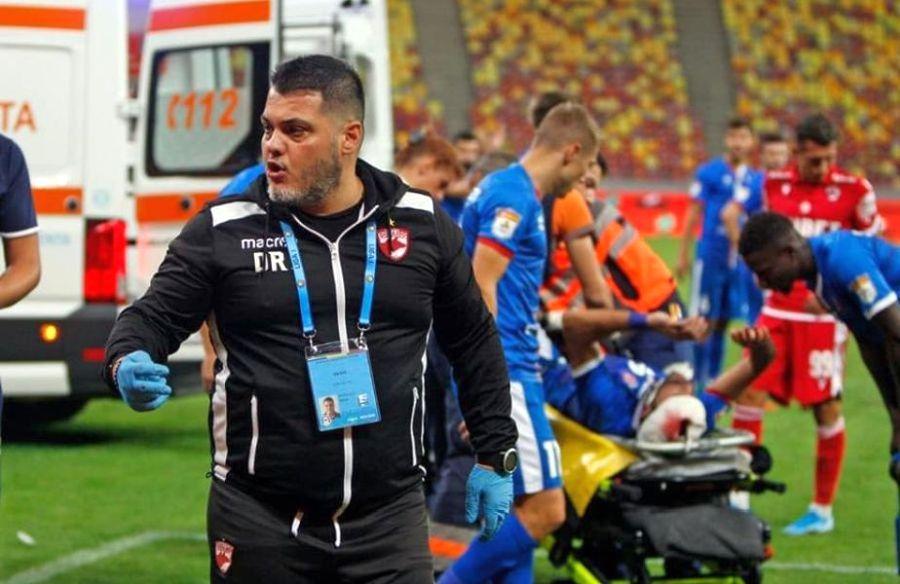 """EXCLUSIV Ce face Adrian Motoacă, fost medic la Dinamo, în timpul pandemiei de COVID-19: """"Sunt pe baricade"""" » Sfaturi pentru jucătorii și cluburile din Liga 1"""