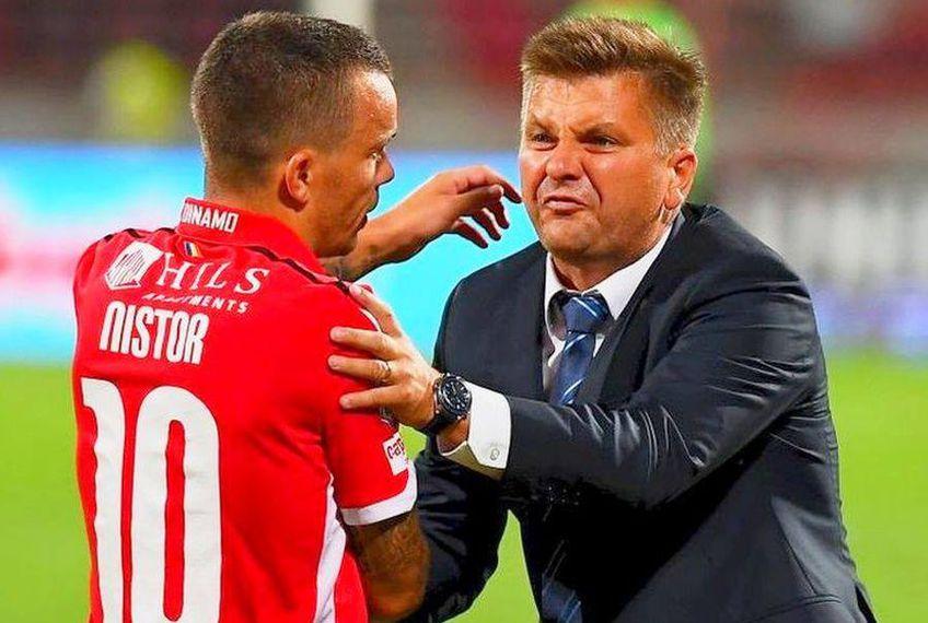 Dusan Uhrin jr. și-a reziliat contractul cu Dinamo la începutul lunii martie. Acesta l-a antrenat pe Nistor între august 2019 și ianuarie 2020