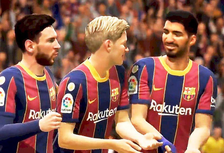 Așa ar arăta tricourile Barcelonei, foto : captură twitter