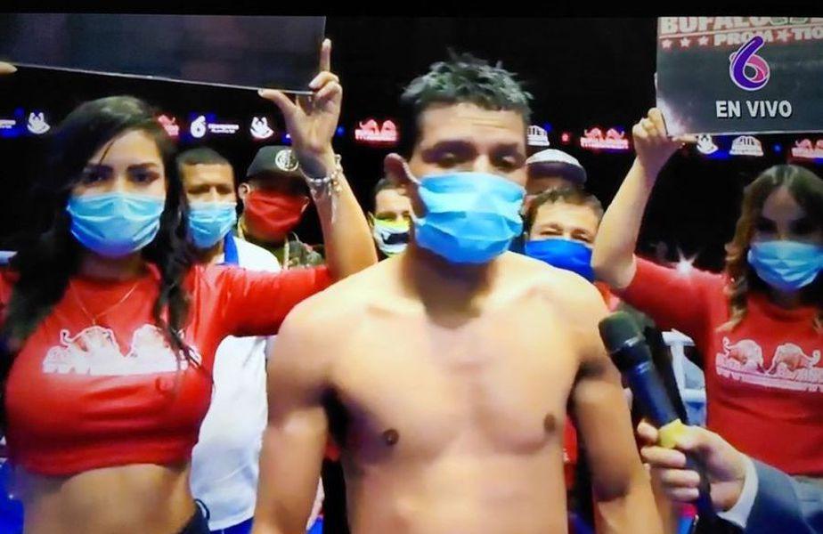 Pandemia de COVID-19 nu a oprit box-ul în Nicaragua  // sursă foto: Instagram @tvboxeo