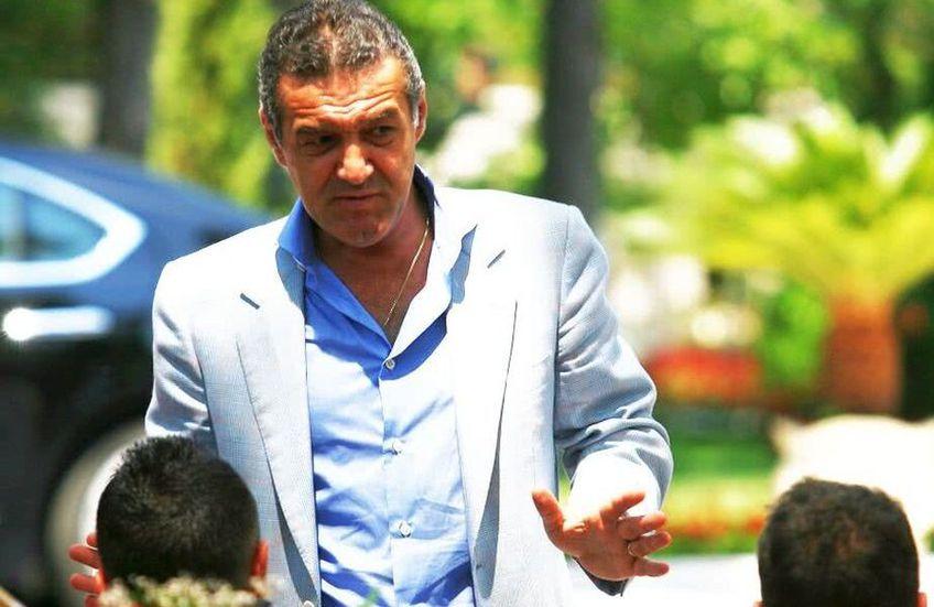 Gigi Becali nu vrea să reintre în politică