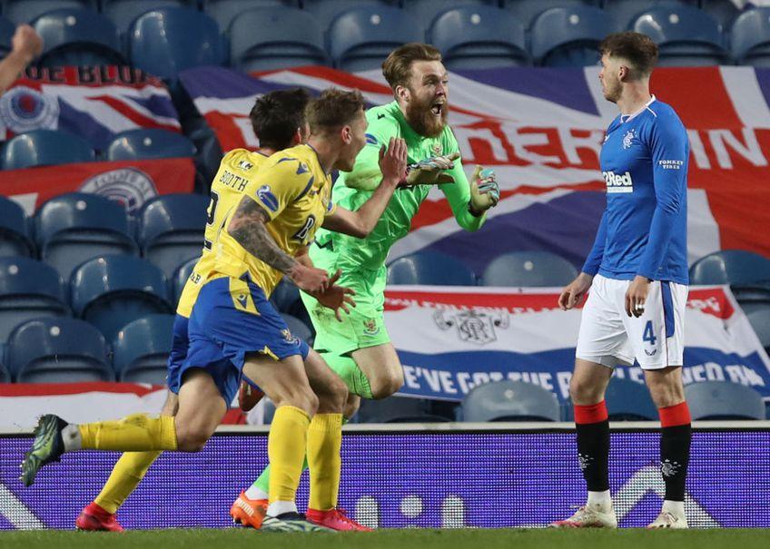 Ianis Hagi (22 de ani) a evoluat 68 de minute în eliminarea lui Rangers din Cupa Scoției, în fața lui St. Johnstone. În timpul regulamentar a fost 0-0, după cele două reprize de prelungiri tabela arăta 1-1, iar la penalty-uri s-a încheiat 2-4.