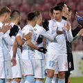 FCSB a suferit primul eșec din play-off, 1-2 cu Sepsi. Sursă foto: GSP