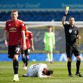 Nervii au fost întinși la maximum în Leeds - Manchester United 0-0. Sursă foto: Guliver/Getty Images