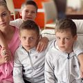 Maria Pogrebnyak și cei 3 fii, toți bolnavi de coronavirus