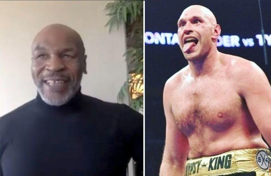 Mike Tyson (stânga) și Tyson Fury (dreapta) ar putea lupta într-un meci demonstrativ // sursă foto: Instagram @ gypsyking101, miketyson
