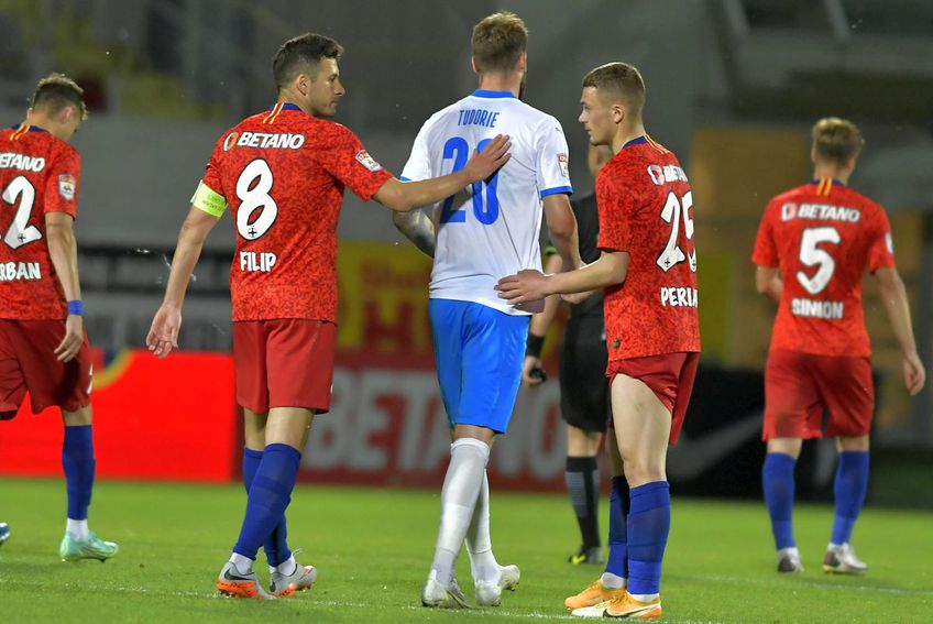 Lucian Filip a fost deseori căpitan la FCSB // foto: Imago