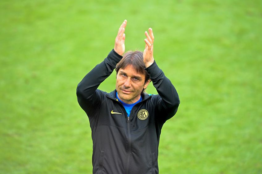 "Antonio Conte pare să își ia ""La revedere"" de la Inter // Foto Getty Images"
