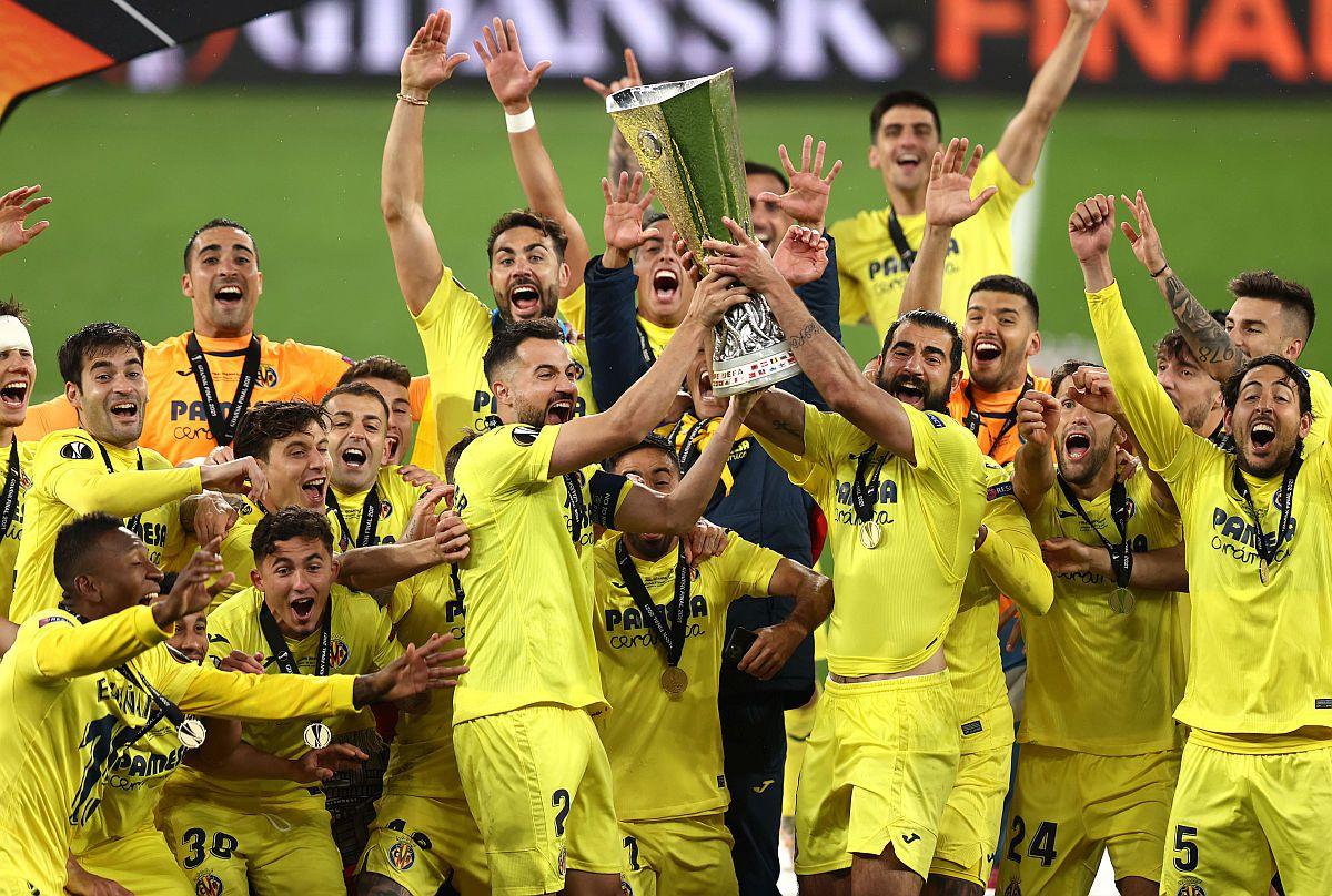 Villarreal câștigă în premieră Europa League! Finală dramatică decisă la penalty-uri: De Gea a ratat lovitura decisivă