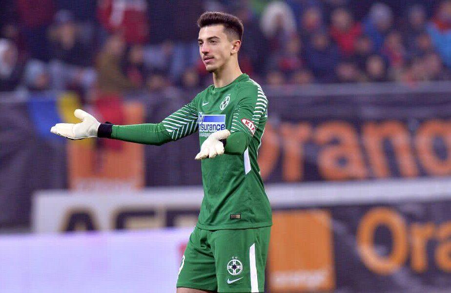 Andrei Vlad a reușit un assist în Dinamo - FCSB 0-3