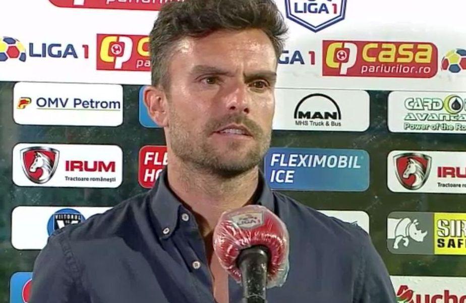 Ruben Albes, la microfonul TV Telekom Sport
