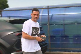 """Cu ce """"bijuterie"""" a apărut Rădoi la amicalul CSA Steaua - Clinceni » Bărbulescu: """"L-am văzut cu maşina lui Batman"""""""