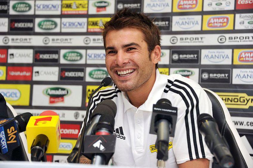 Adrian Mutu este cel mai bun marcator din istoria naționalei României, alături de Gică Hagi (35 de goluri)