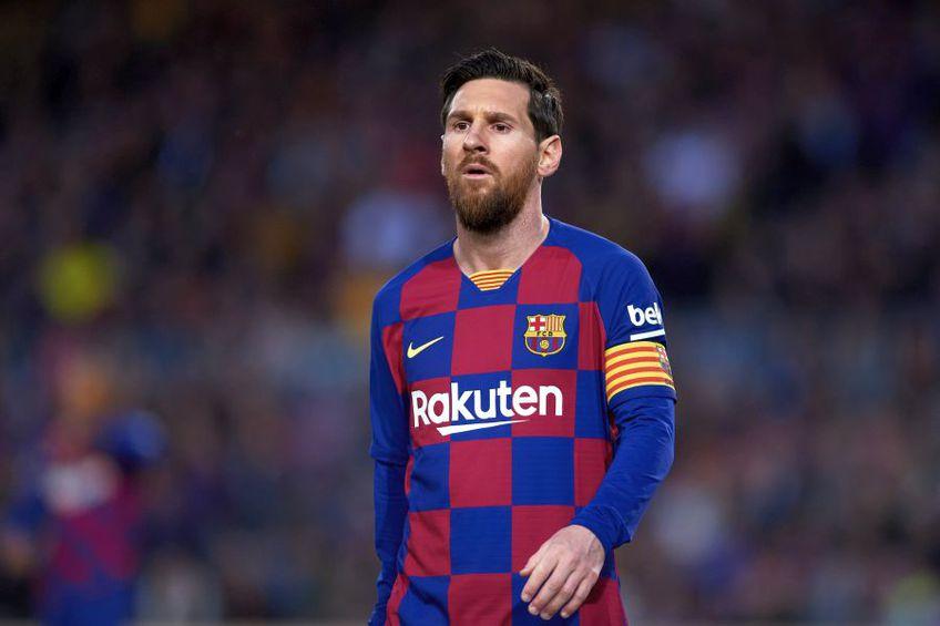 Lionel Messi a fost golgheterul Barcelonei și în acest sezon // foto: Guliver/gettyimages
